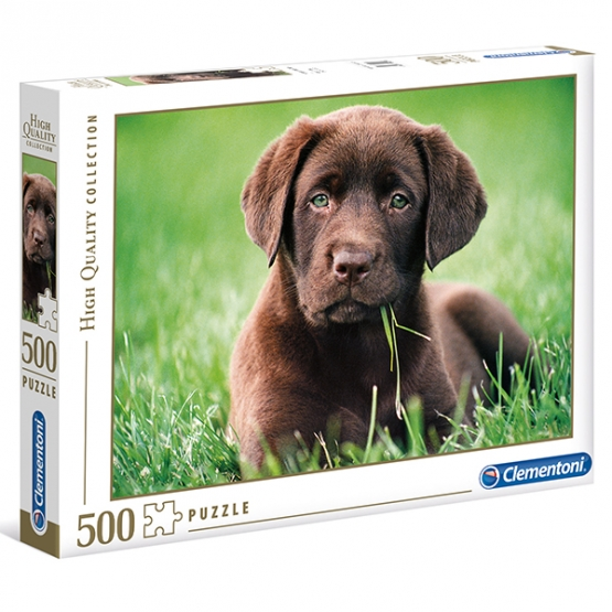 Clementoni Puzzle chocolate puppy 500 teilig